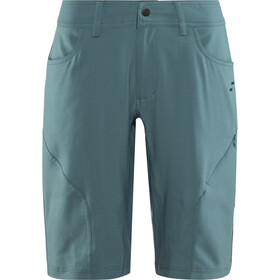 SQUARE Active Baggy Shorts Dame petrol